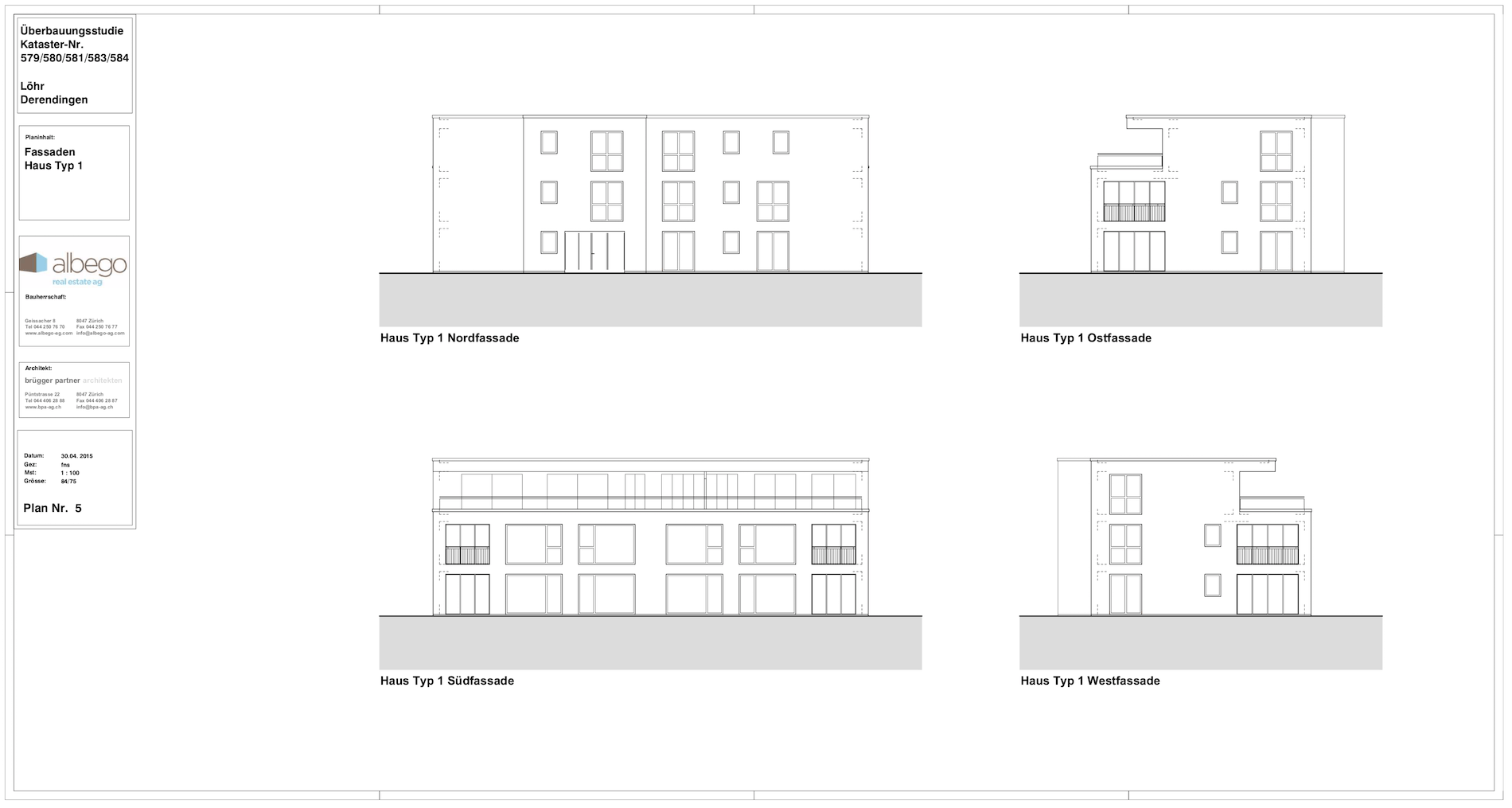 Studienauftrag Derendingen 54 Wohnungen - bpa.ch